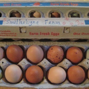 non-certified organic eggs