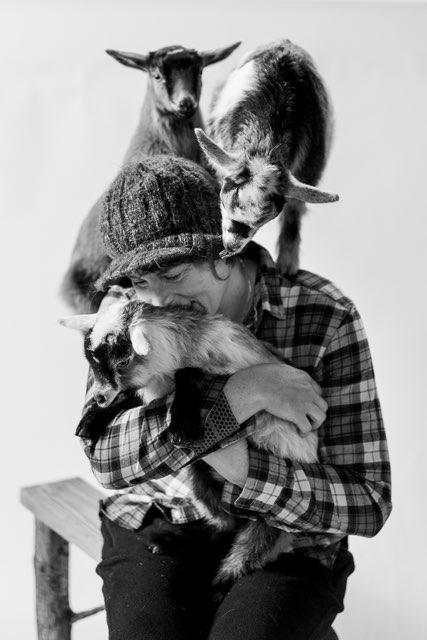 Roni Puget Sound Goat Yoga Kitsap